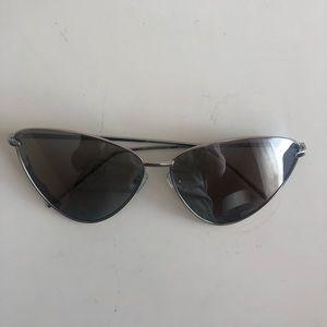 Silver Summer Chic Sunglasses